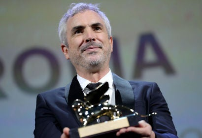 Director Alfonso Cuarón in Venice, 2018