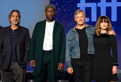 "Director and cast of ""Green Book"" at TIFF 2018"