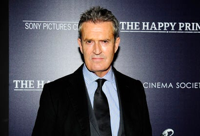 Actor and director Rupert Everett, Golden Globe nominee