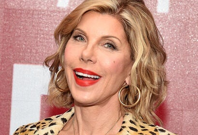 Actress Christine Baranski, Golden Globe nominee