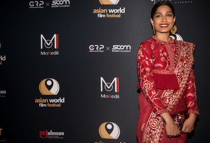 Actrsss Freida Pinto at the 4th AWFF, Culver City