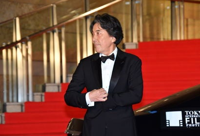 Actor Koji Yakusho at the Tokyo Film Festival 2018