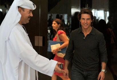 "Tom Cruise in Dubai,""Mission: Impossible Ghost Protocol"""