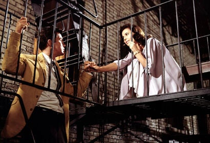 "Natalie Wood and Richard Beymer in a scene from  ""West Side Story"