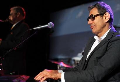Jeff Goldblum at the piano