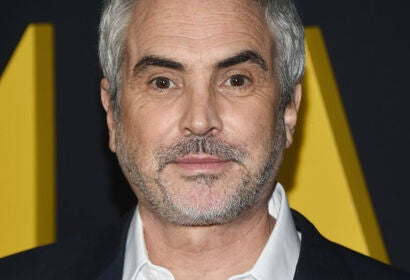 Director Alfonso Cuarón, Golden Globe winner