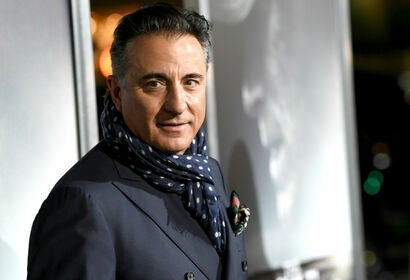 Actor Andy Garcia, Golden Globe nominee