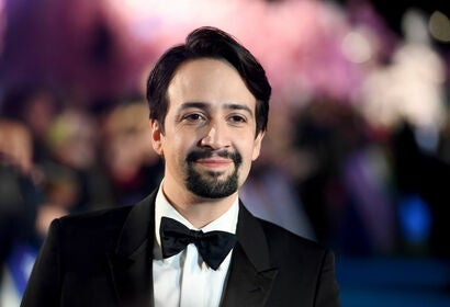 Actor, composer, singer, actor Lin Manuel Miranda, Golden Globen nominee