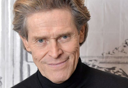 Actor Willem Dafoe, Golden Globe nominee