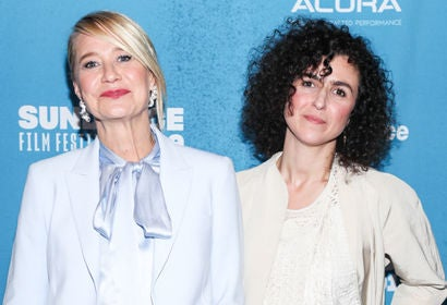 Trine Dyrholm nd May el-Toukhy attend the 'Queen Of Hearts' Premiere during the 2019 Sundance Film Festiva
