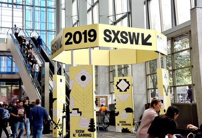 Atmosphere at the SXSW festival, 2019