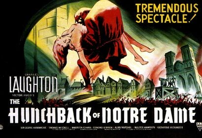 Poster for The Hunchback of Notre Dame, 1939