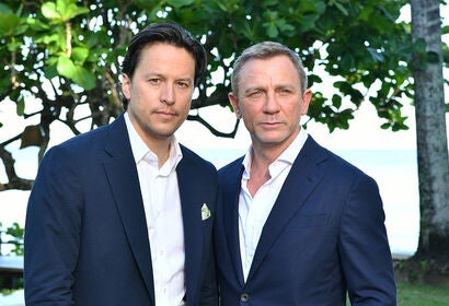 Director Cary Fukunaga and actor Daniel Craig