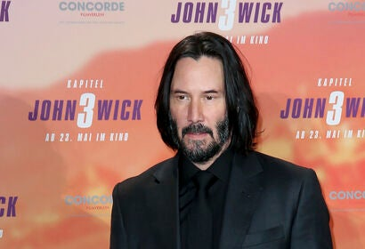 Actor and director Keanu Reeves