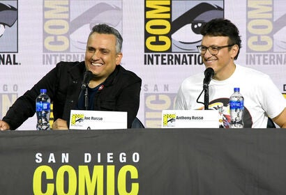 Directors Joe and Anthny Russo at ComicCon 2019