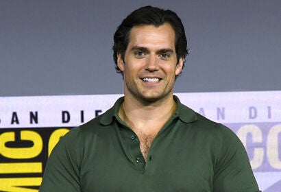 Actor Henry Cavill at SDCC 2019
