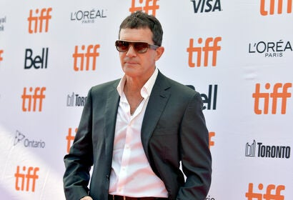 Actor Antonio Banderas, Golden Globe nominee, at TIFF 2019