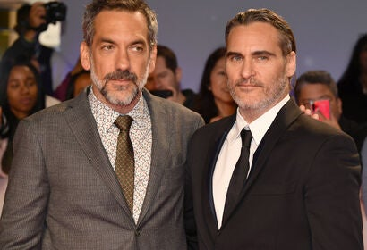 Director Todd Phillips and actor Joaquin Phoenix