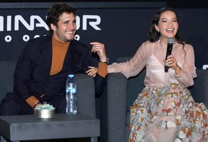 Actors Natalia Reye and Diego Boneta