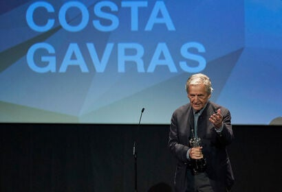 Director Costa Gavras recieves award at the 2019 San Sebastian Film Festival