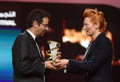 Director Nicolas Rincon Gille at the Marrakech FF 2019
