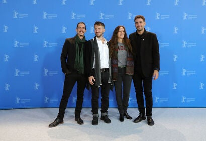 "Cast, writer and director of ""The Intruder"", 2020, at Berlin"