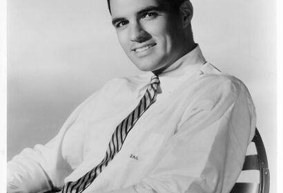 Actor and politician John Gavin, Most Promising Star winner