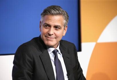 Actor, director George Clooney, Golden Globe winner