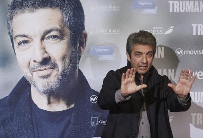 "Actor Ricardo Darín at the premiere of the film ""Truman"" in Madrid"