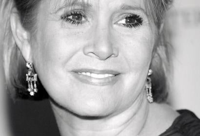 Actress, writer Carrie Fisher