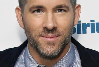 Actor Ryan Reynolds