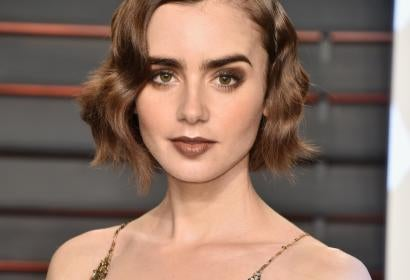 Actress Lily Collins