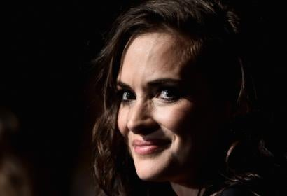 Winona Ryder at the premiere of the Netflix series Stranger Things