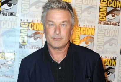 Actor Alec Baldwin at Comic-Con 2016
