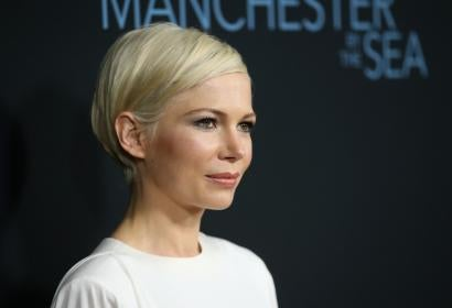 Actress Michelle Williams