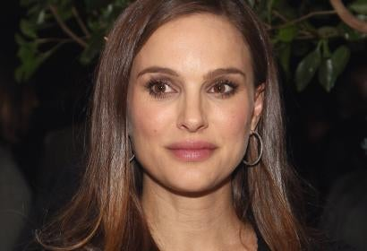 Actress Natalie Portman, Golden Globe winner