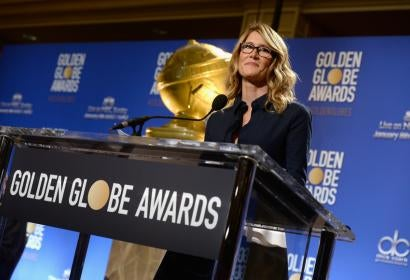 Laura Dern at the 74th Golden Globe Awards Nominations Announcement