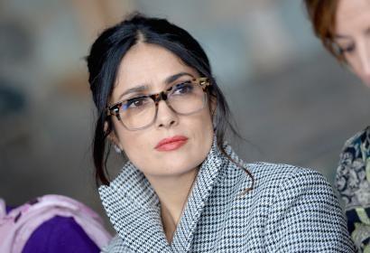 Salma Hayek at Sundance 2017