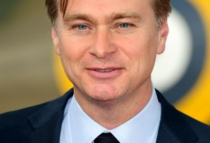 Director Christopher Nolan at the premiere of 'Dunkirk'