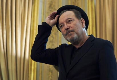 Actor and musician Ruben Blades