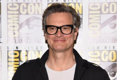 Actor and Golden Globe winner Colin Firth at Comic-Con 2017