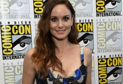 Actor Sarah Wayne Callies at Comic-Con