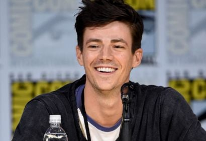 Actor Grant Gustin at Comic-Con 2017