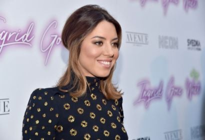 Actress Aubrey Plaza at the premiere of Ingrid Goes West