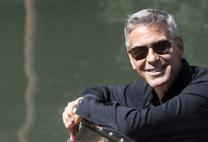 George Clooney at the Venice Film fetsival, 2917