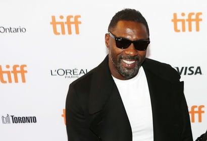 Actor Idris Elba in Toronto 2017