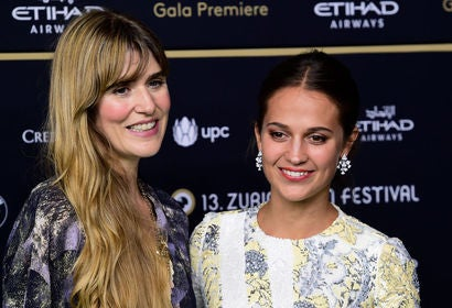 Actress Alicia Vikander and director Lisa Langseth