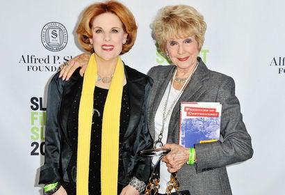 Poruders Kat Kramer and Karen Sharpe