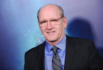 Actor Richard Jenkins, Golden Globe nominee