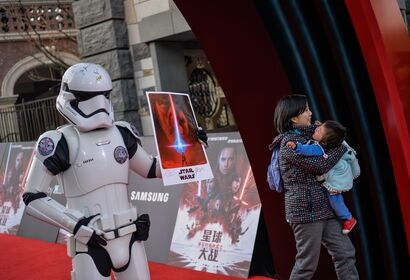 """Star Wars"" movies in China"